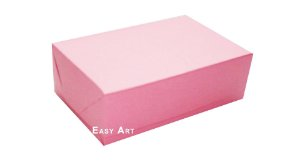 Caixas para 6 Brigadeiros - Rosa Claro