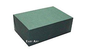 Caixas para 6 Brigadeiros - Verde Musgo