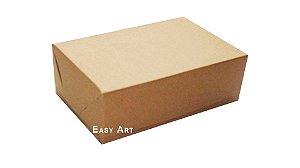 Caixas para 6 Brigadeiros - Marrom Claro