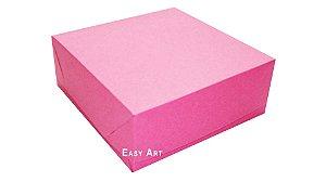 Caixas para 9 Brigadeiros - Pink