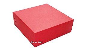 Caixas para 9 Brigadeiros - Vermelho