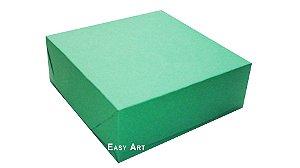 Caixas para 9 Brigadeiros - Verde Bandeira