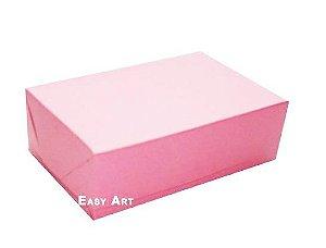 Caixas para 12 Brigadeiros - Rosa Claro