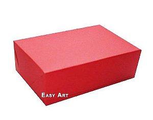 Caixas para 12 Brigadeiros - Vermelho