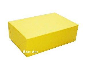 Caixas para 12 Brigadeiros - Amarelo