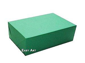 Caixas para 12 Brigadeiros - Verde Bandeira