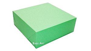 Caixas para 16 Brigadeiros - Verde Pistache
