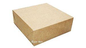 Caixas para 25 Brigadeiros 20x20x3,7 - Kraft