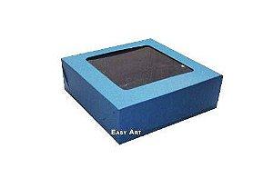 Caixa para 9 Brigadeiros - Azul Marinho