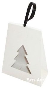 Caixa Árvore de Natal - Branco