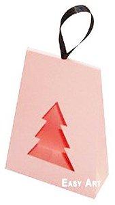 Caixa Árvore de Natal - Salmão