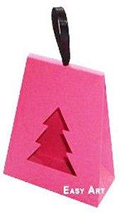 Caixa Árvore de Natal - Pink