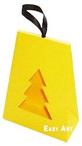 Caixa Árvore de Natal - Amarelo