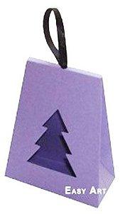 Caixa Árvore de Natal - Lilás