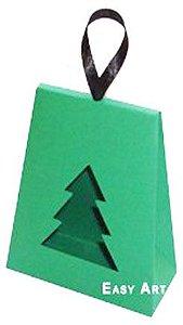 Caixa Árvore de Natal - Verde Bandeira