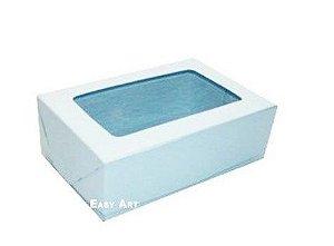 Caixa para 12 Brigadeiros - Azul Claro
