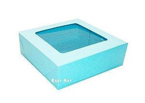 Caixa para 16 Brigadeiros - Azul Marinho Tiffany