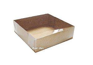 Caixas para 4 Brigadeiros 7x7x3,5 - Kraft