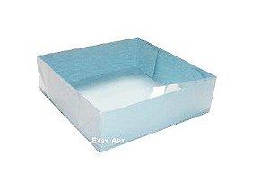 Caixas para 4 Brigadeiros - Azul Claro