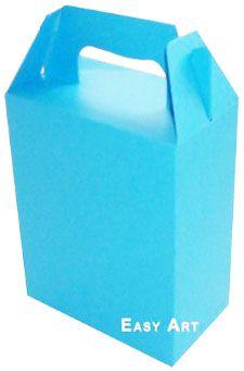 Caixa Maleta - Azul Turquesa