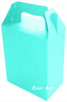 Caixa Maleta - Azul Tiffany