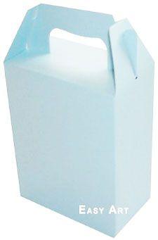 Caixa Maleta - Azul Claro