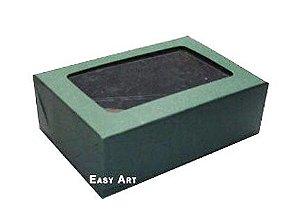 Caixas para 3 Brigadeiros - Verde Musgo