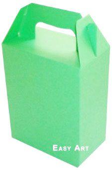 Caixa Maleta - Verde Pistache