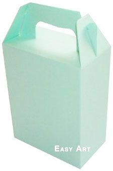 Caixa Maleta - Verde Claro