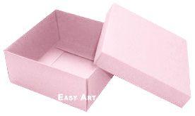 Caixa Tiffany Grande - Rosa Claro