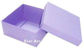 Caixa Tiffany Grande - Lilás