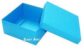 Caixa Tiffany Grande - Azul Turquesa