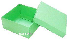 Caixa Tiffany Grande - Verde Pistache