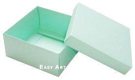 Caixa Tiffany Grande - Verde Claro