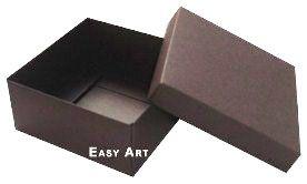 Caixa Tiffany Grande - Marrom Chocolate