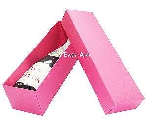 Caixa para Mini Vinho Sem Visor - Pink