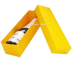 Caixa para Mini Vinho Sem Visor - Laranja Claro