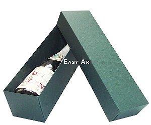 Caixa para Mini Vinho Sem Visor - Verde Musgo
