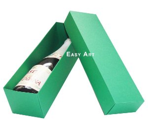 Caixa para Mini Vinho Sem Visor - Verde Bandeira