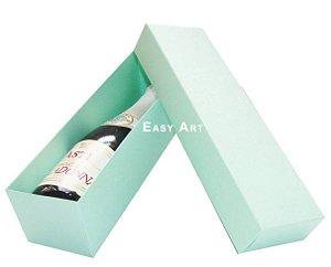 Caixa para Mini Vinho Sem Visor - Verde Claro
