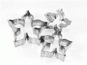 Cortadores Inox - Sépalas 3 Peças - 3P