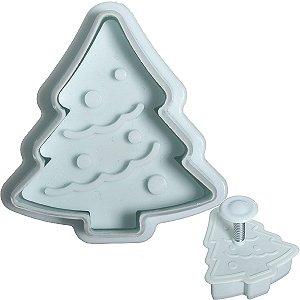 Cortador de Biscoito - Árvore de Natal 1 unidade - 4,5x4,5
