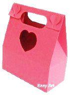 Caixa Maleta Coração - Pink