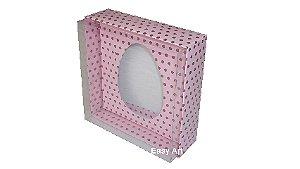 Caixas Ovos de Colher - 100 gramas Rosa Poás Marrom