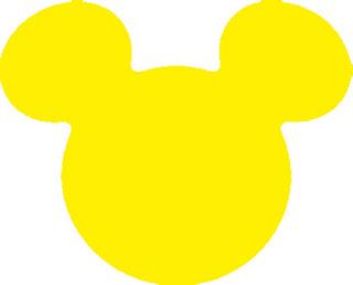 Tags - Cabeça do Mickey / 2,5 cm  - 2,5
