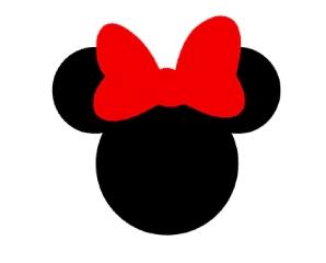 Tags - Cabeça da Minnie / 2,5 cm  - 2,5