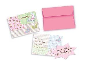 Convites Temáticos pacote com 8 unidades - 10,5x8