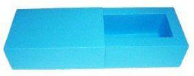 Caixas para 2 Brigadeiros - Azul Turquesa