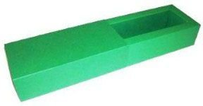 Caixas para 3 Brigadeiros - Verde Bandeira