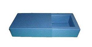 Caixas para 6 Brigadeiros - 16,5x11,5x4,5 / Azul Marinho
